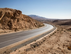 Quality roads are also in the Sahara