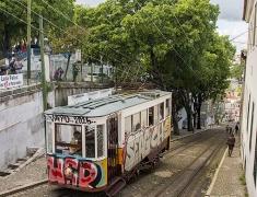 Jedna z lanovek v Lisabonu