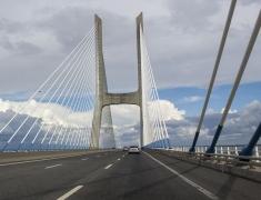 Most Vasco De Gama - nejdelší most v Evropě