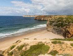 Překrásná pláž Do Beliche
