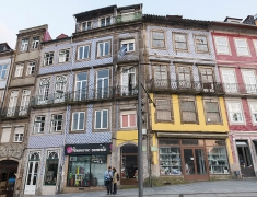 Typical houses in Porto