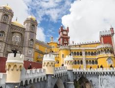Hlavní atrakce v Sintře - Palác Pena