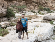 Eva a Tom ve Wadi Shab