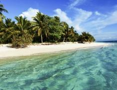 Želví ostrovy jsou lidmi téměř nedotčené