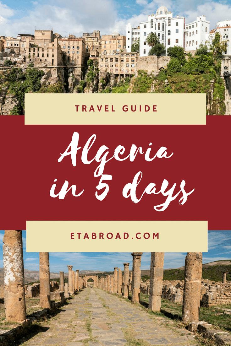 Algeria in 5 days