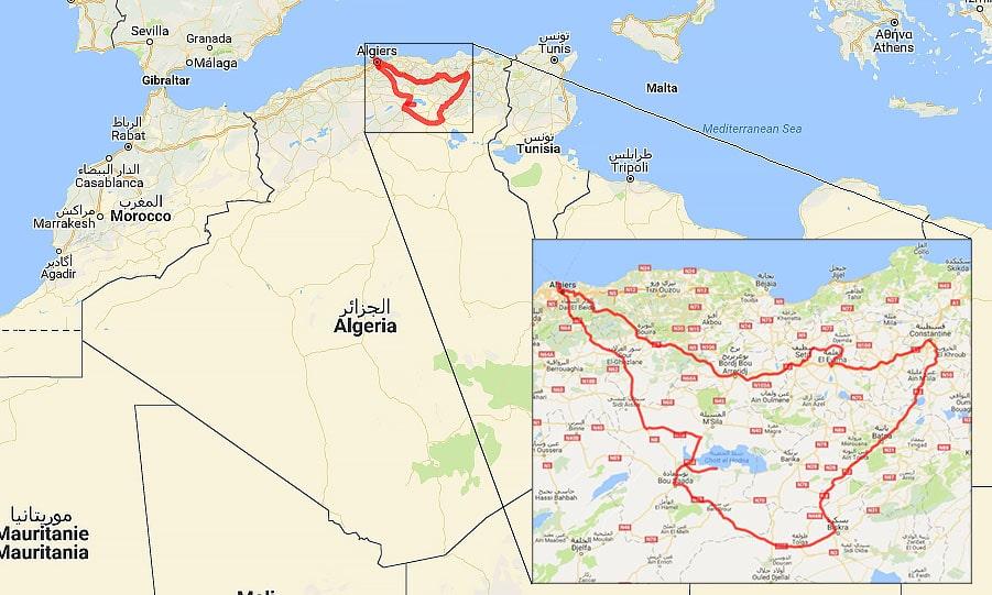 Algeria Travel Itinerary