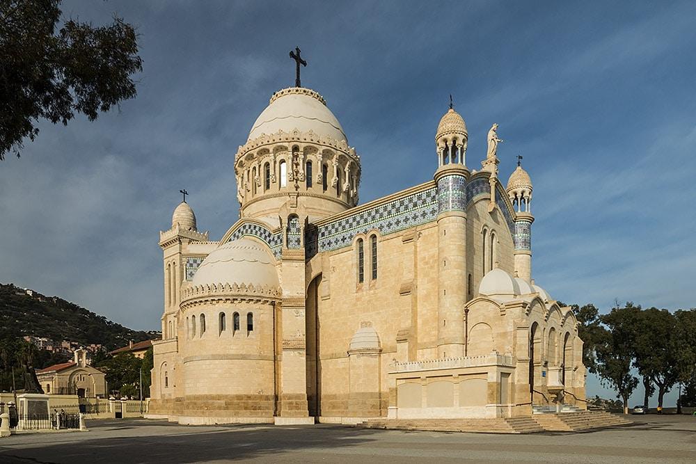 Notre Dame d'Afrique - Roman Catholic basilica in Algiers, Algeria