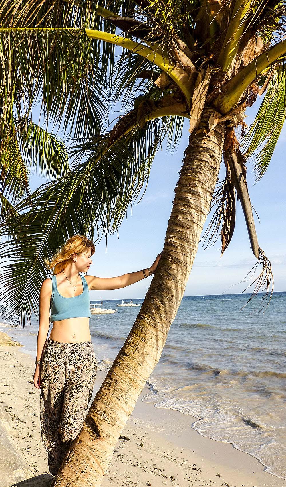 Eva at beach Alona