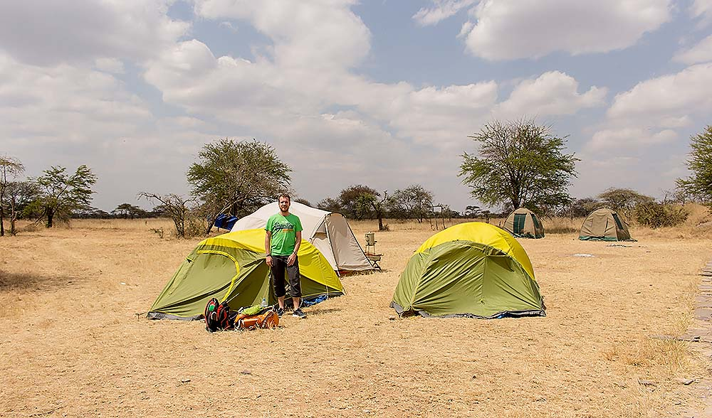 This was our campsite in Serengeti