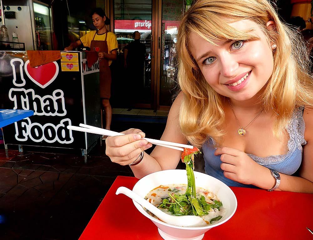 Eva and Thai cuisine