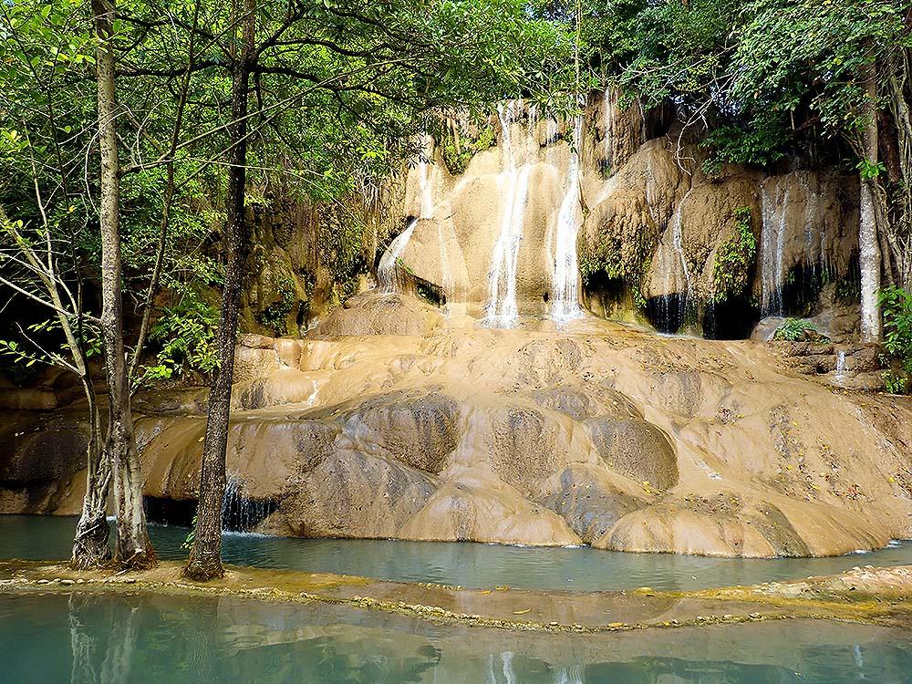 Erawan National Park - a system of river waterfalls