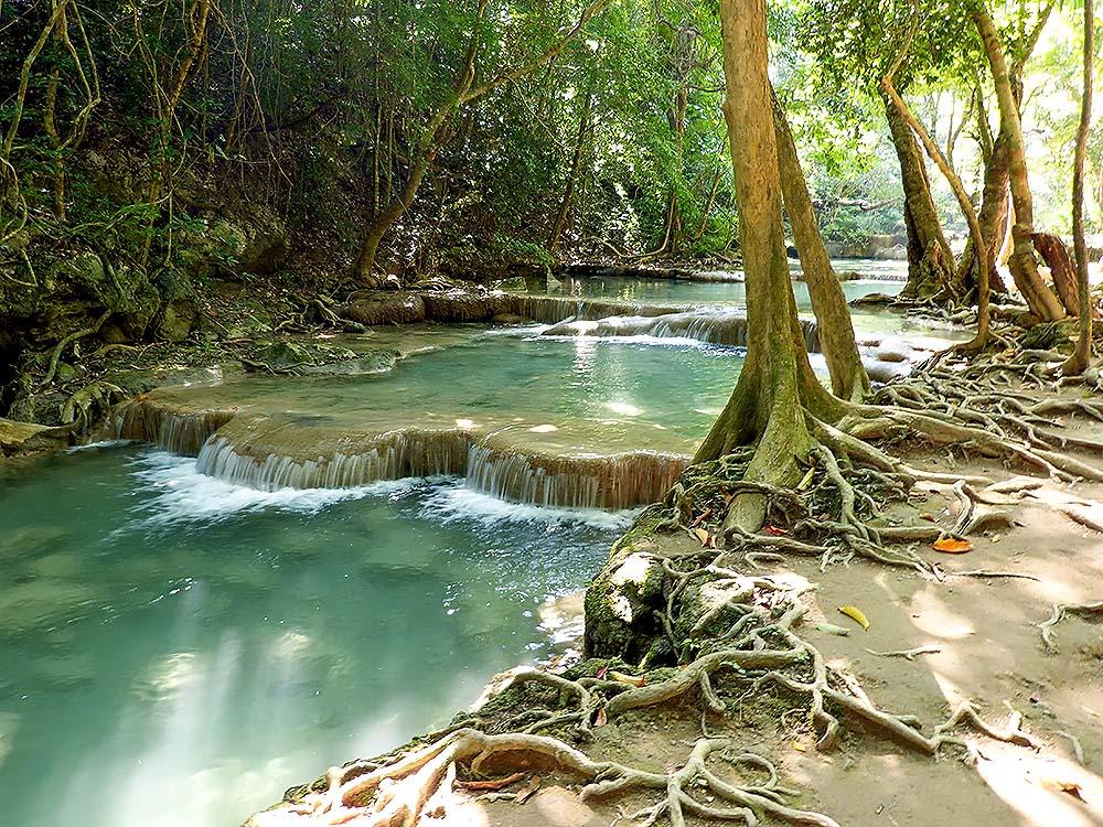 Erawan National Park – Waterfall