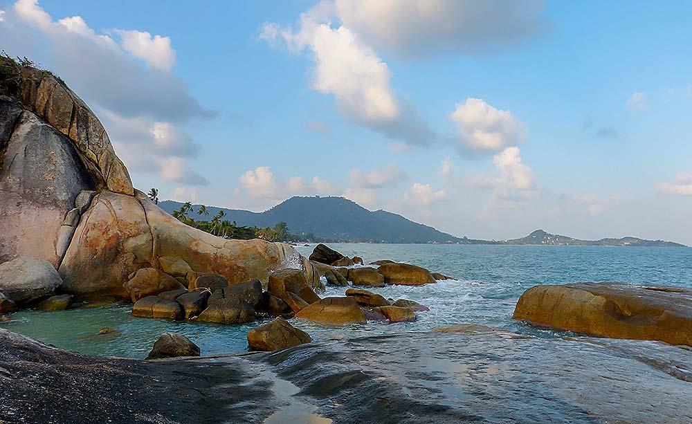 Beautiful coast of Koh Samui