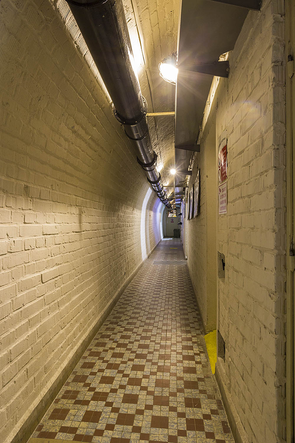 Corridors are almost endless