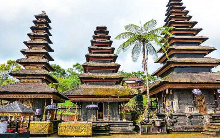 The Pura Besakih- the main temple