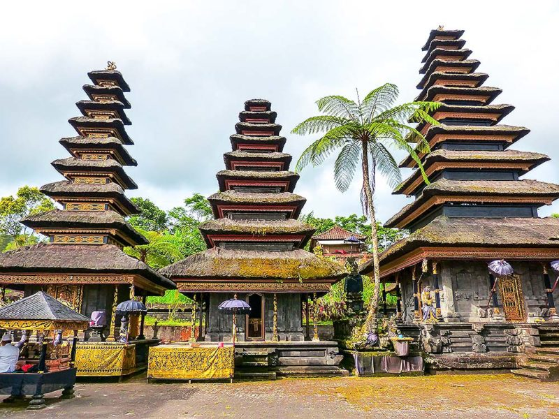 The Pura Besakih- the main temple