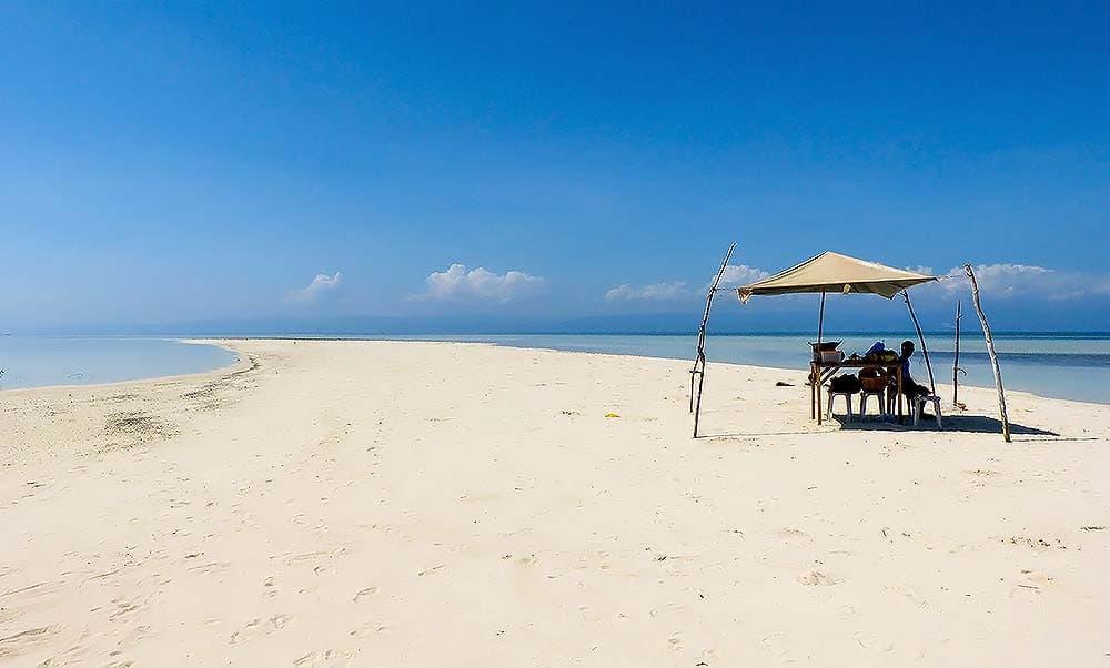 Filipány, pláž na Virgin Island