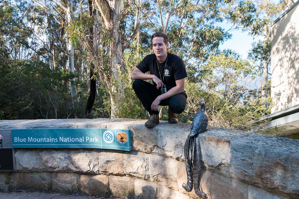 Nicco as an experienced guide to the Eucalyptus forests