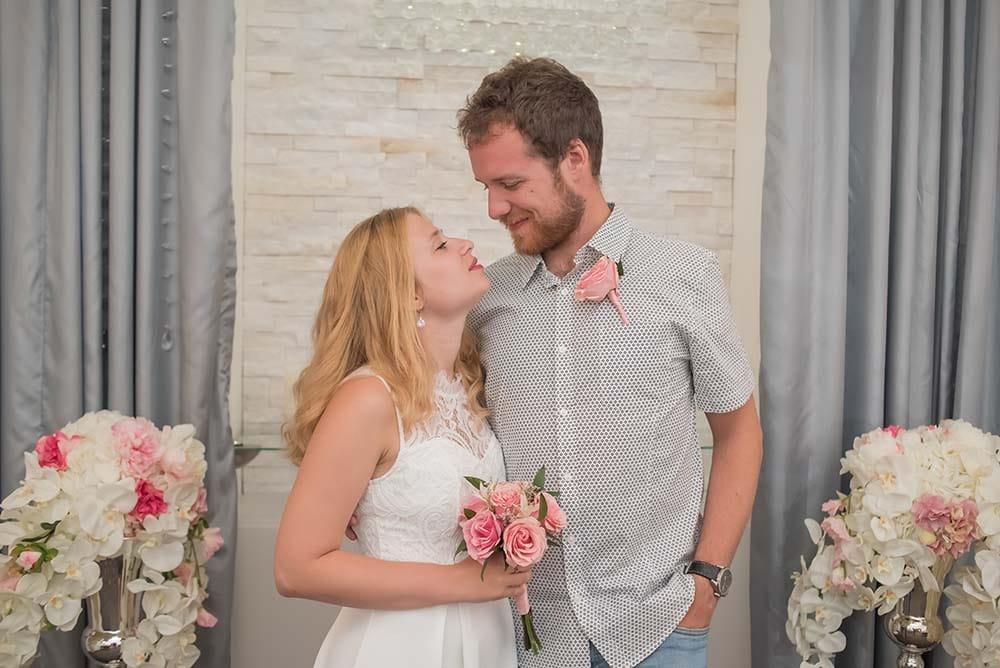 Our wedding with Vegas Weddings