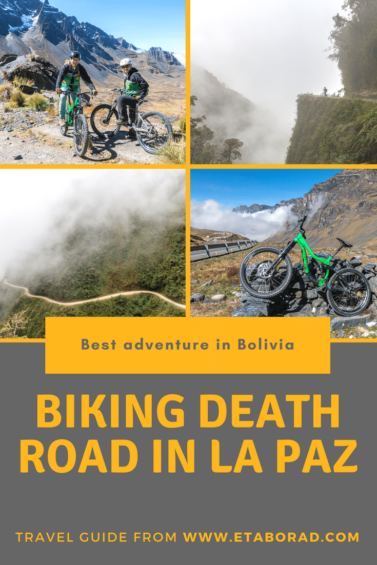 Death Road in Bolivia
