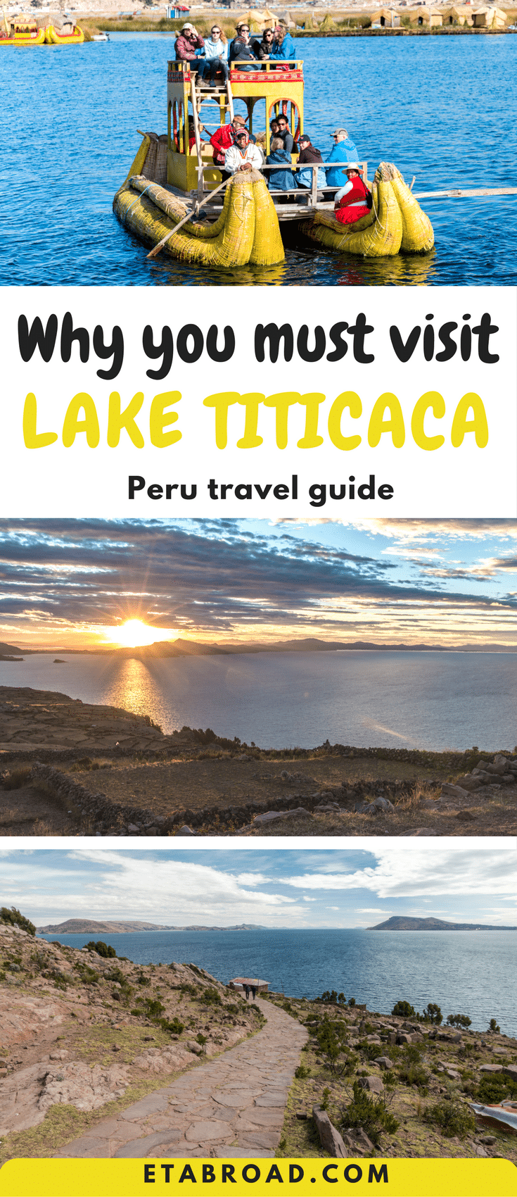 Why you must Lake Titicaca