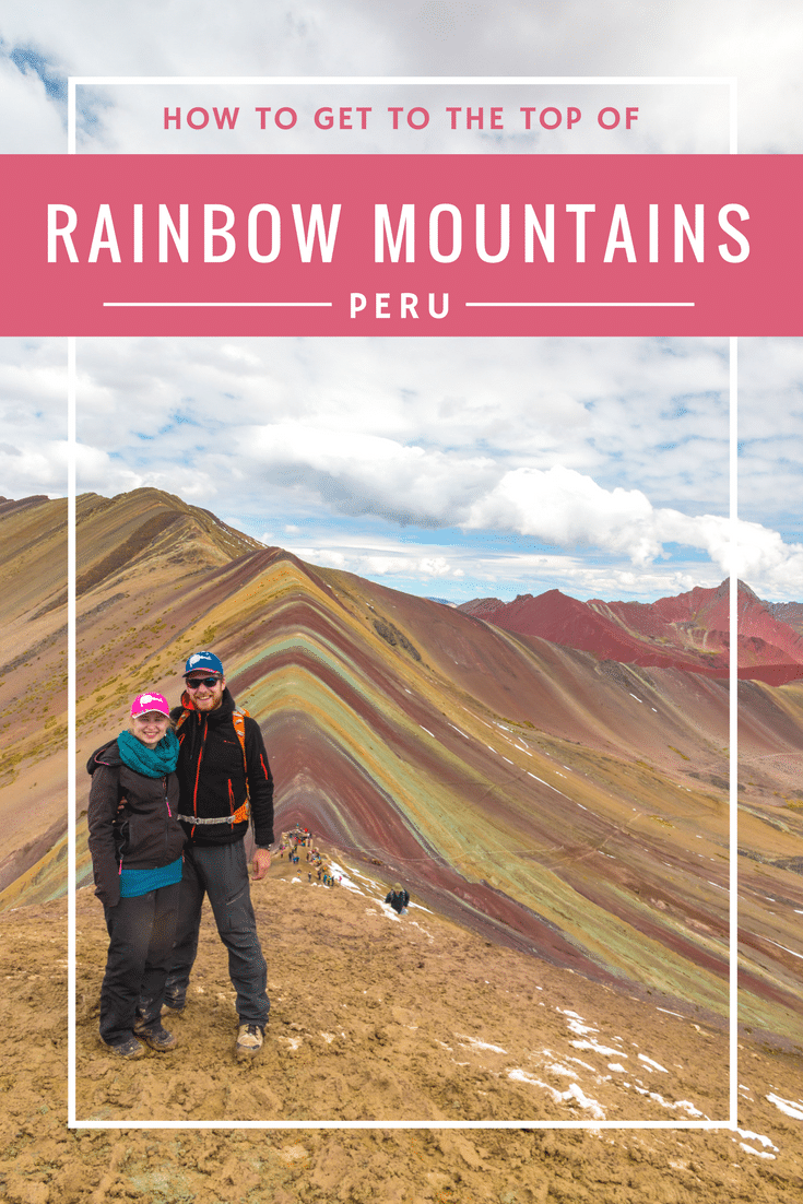 How to get to Rainbow Mountains
