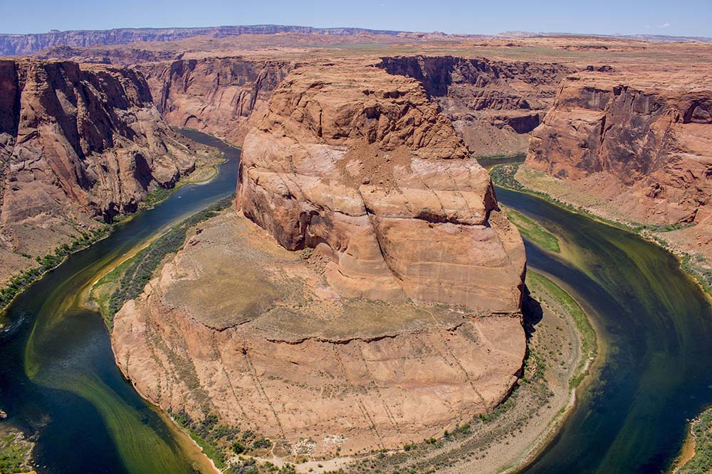 The largest horseshoe created by the Colorado River