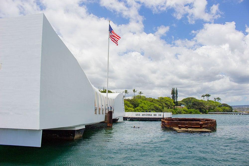 Pearl Harbour, Oahu, Havaj