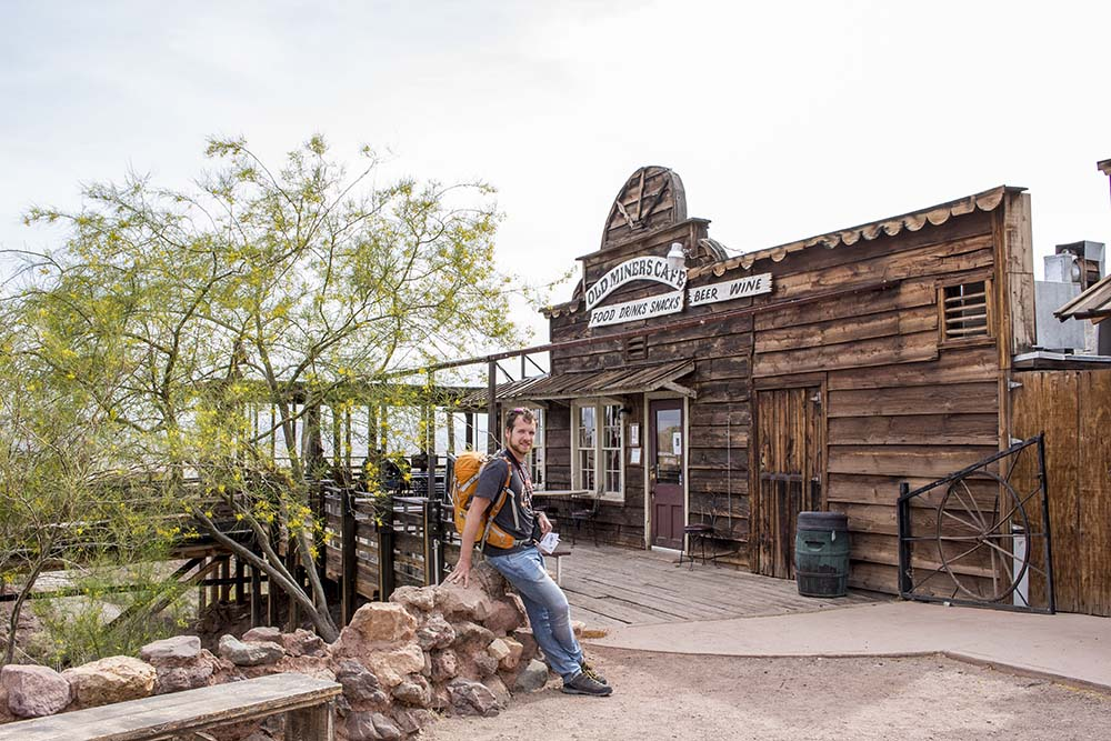Western Calico ghost town