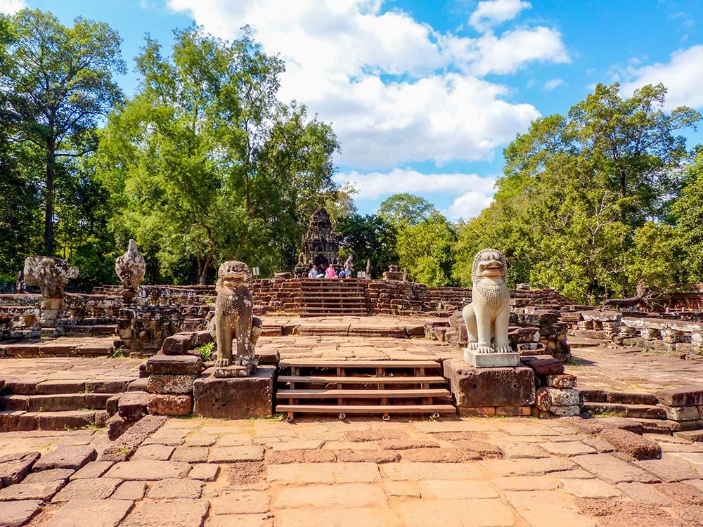 Elephant terrace, Angkor Wat best temples