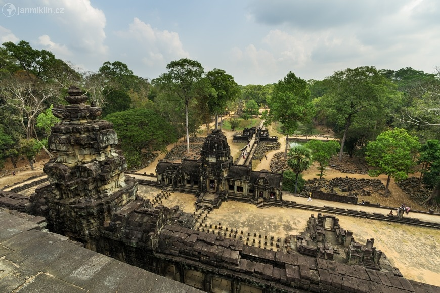 View from the top of the Baphoun Temple