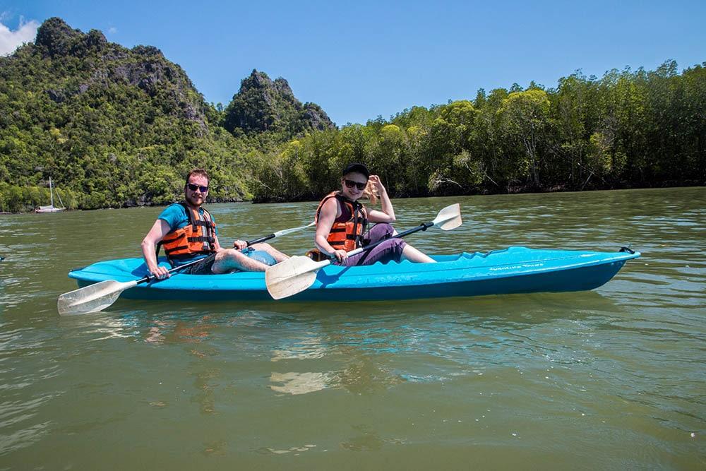 Malaysia Langkawi mangrove kayaking