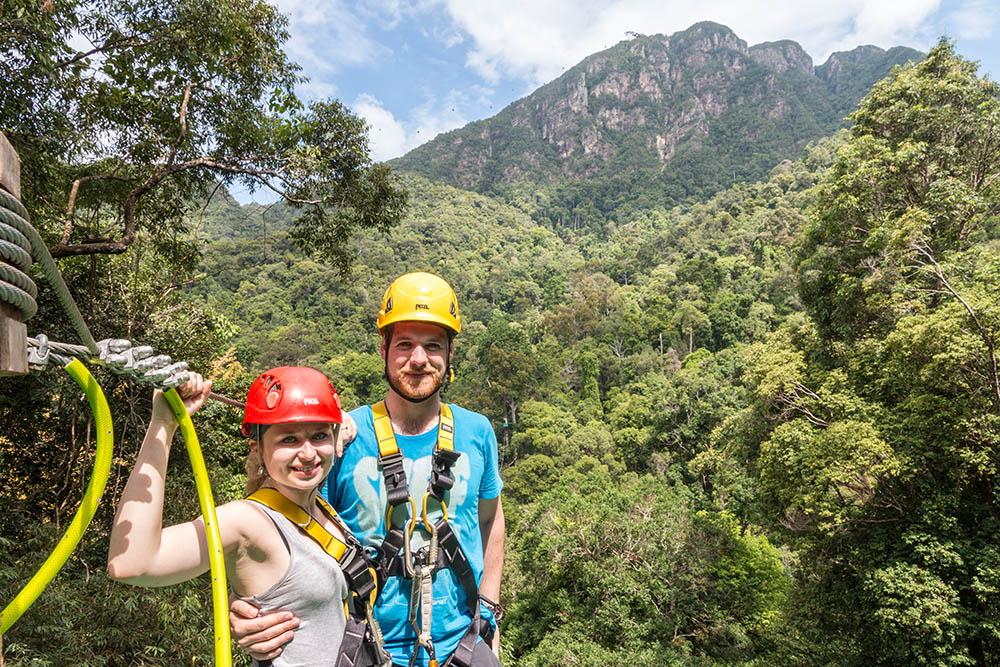 Eco zipline tour