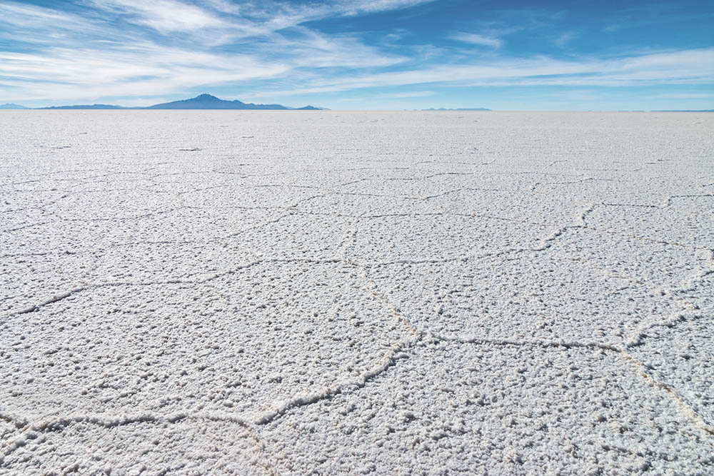 Nekonečné solné pláně - Salar de Uyuni