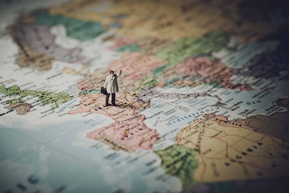 Plan a trip with map
