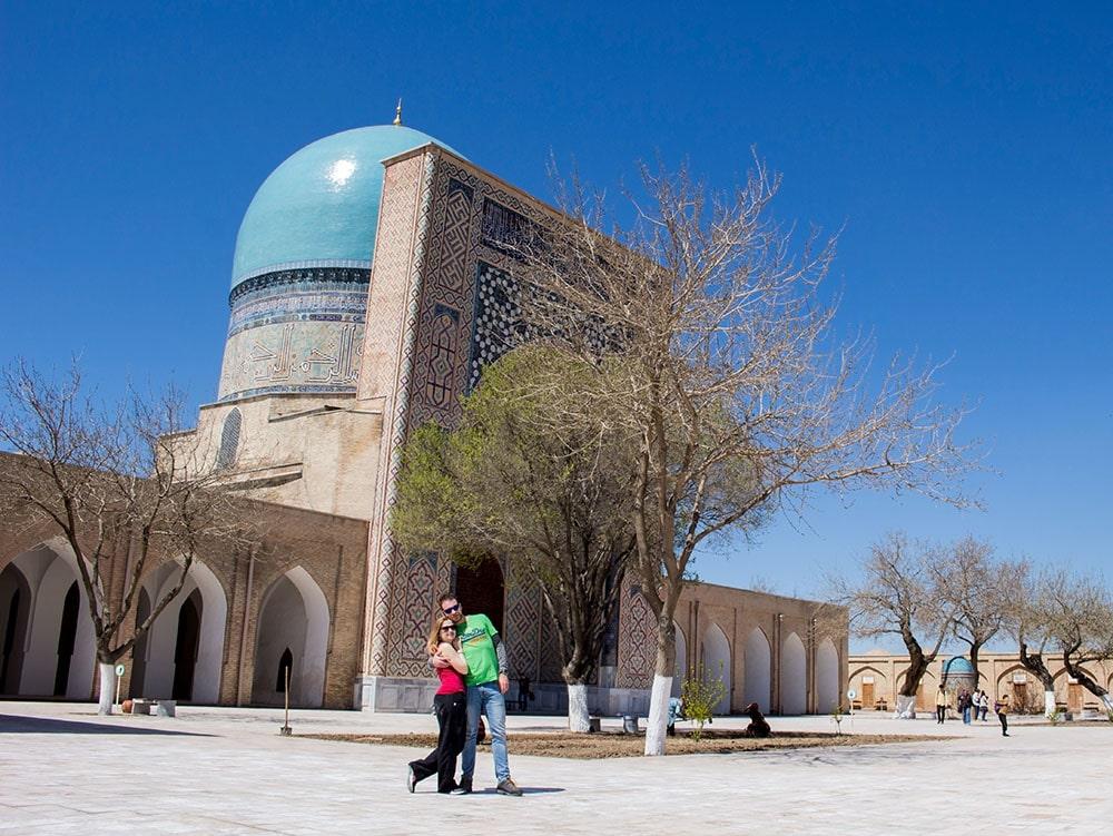 Samarkand - travel in couple