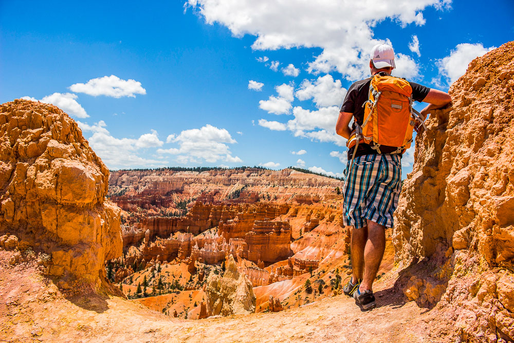 Tom in bryce canyon