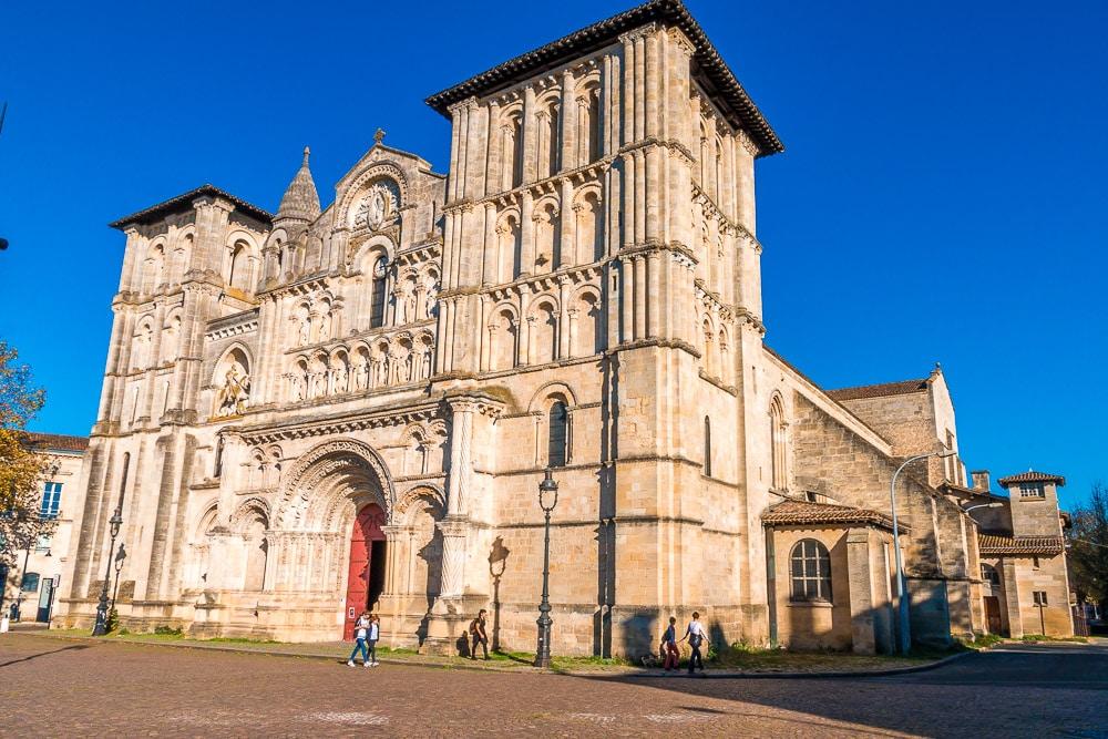 Holy Cross Church in Bordeaux