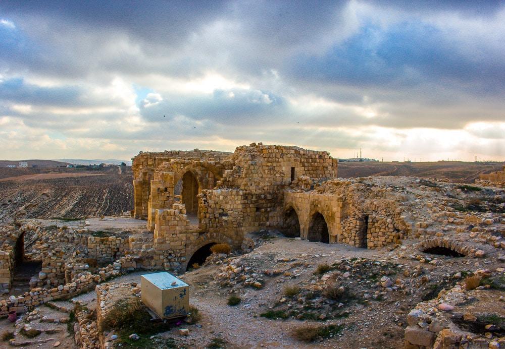 Jordánsko je plné zřícenin Křižáckých hradů