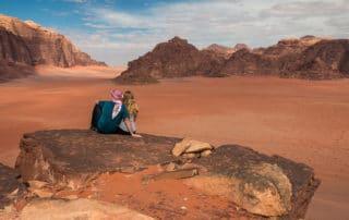 Wadi Rum - Eva and Tom