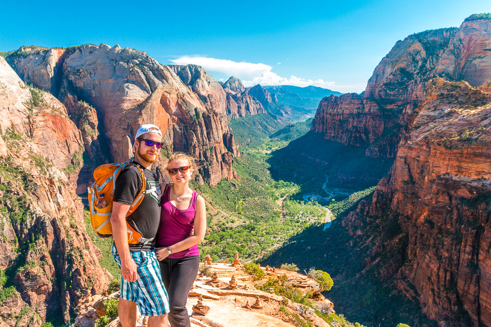 Zion National Park from Angels Landing
