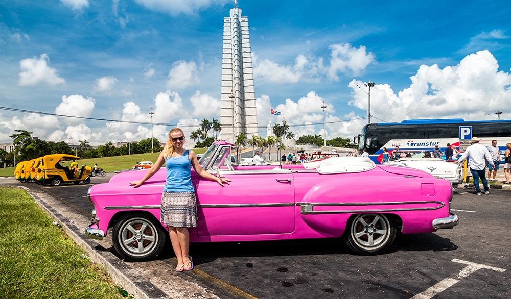 Eva in Cuba