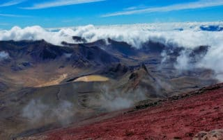 Tonariro national park - Mordor mountain
