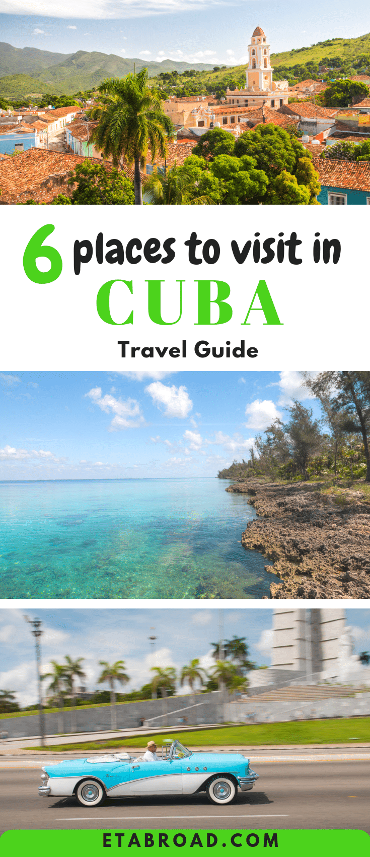 Cuba Travel Guide | What to do in Cuba | must-see places in Cuba | Best things to see in Cuba | Thing to do in Cuba | Beautiful Places of Cuba | Cuba Travel