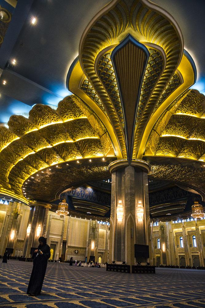 Kuwait Grand Mosque Interior