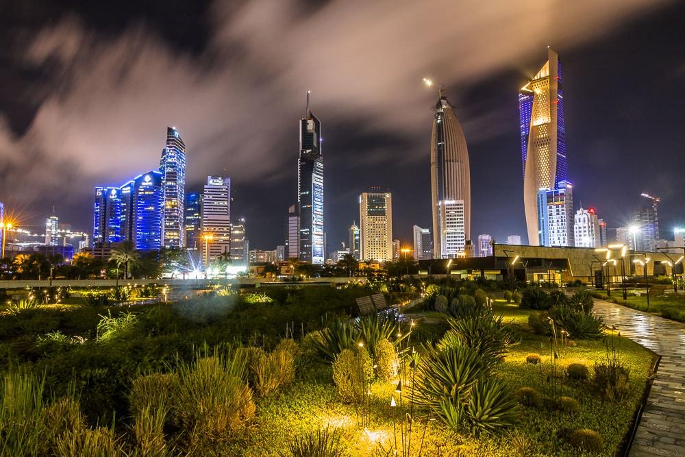 Night Kuwait at Al Shaheed Park