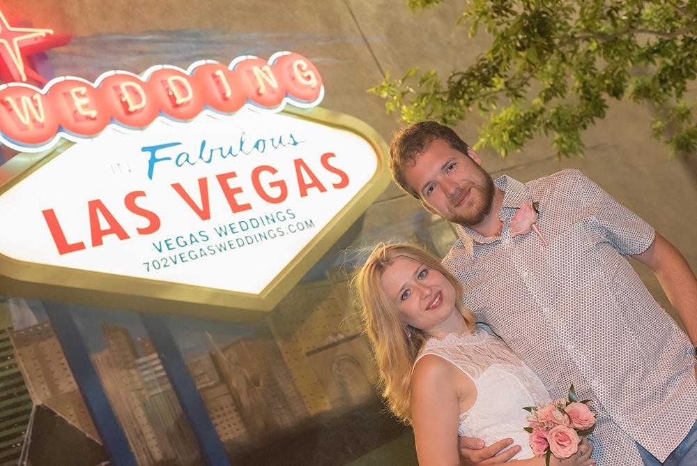 Svatba Las Vegas