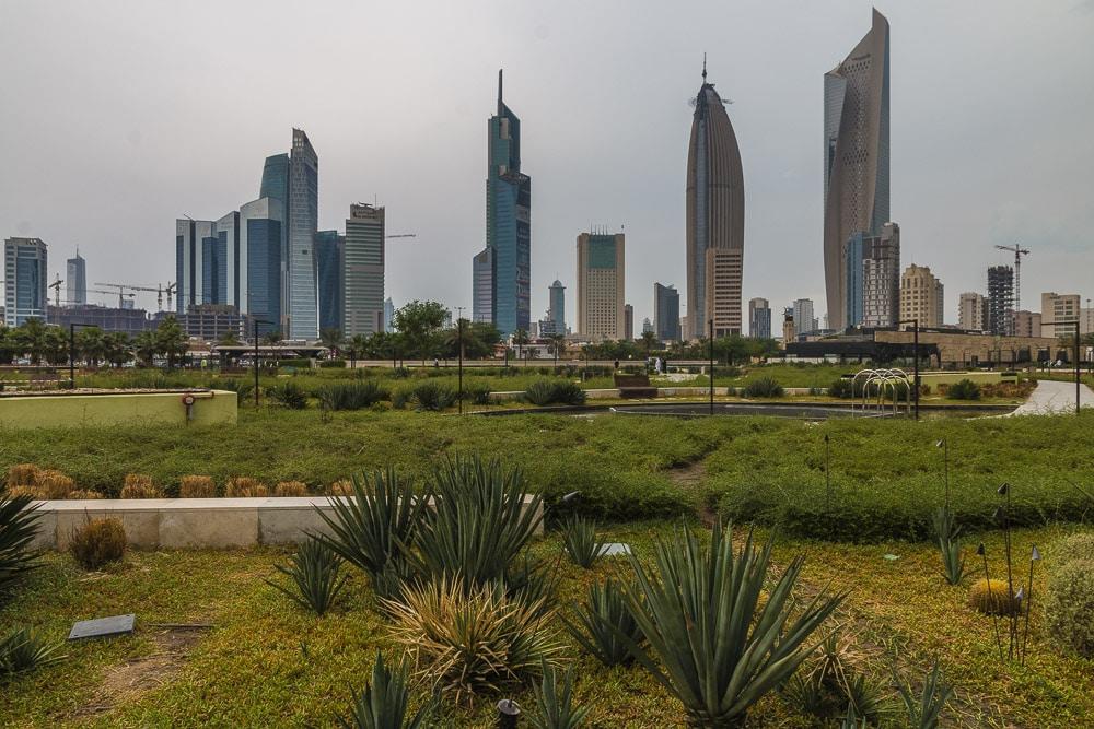 Skycrapers in Kuwait.