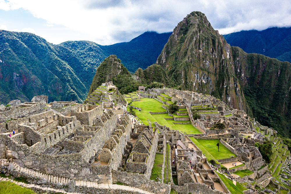 Machu Picchu ruins