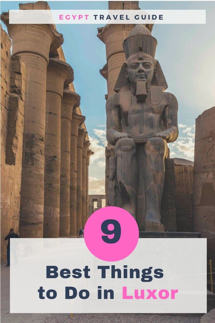 Luxor Travel Guide | What to do in Luxor in Egypt | must-see places in Luxor | Best things to see in Luxor | Thing to do in Luxor | Beautiful Places to Visit in Luxor